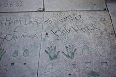 Le théâtre chinois de Grauman, Hollywood, Los Angeles, Etats-Unis Images libres de droits