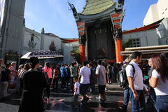 Le théâtre chinois de Grauman, Hollywood, Los Angeles, Etats-Unis Images stock