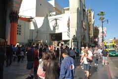 Le théâtre chinois du Grauman à Hollywood Images libres de droits