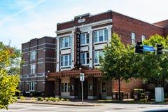 Le théâtre d'Attucks en Norfolk, la Virginie photo libre de droits