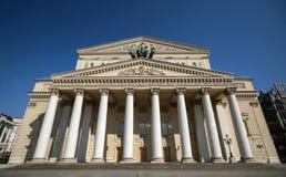 Le théâtre de Bolshoi un théâtre historique à Moscou, Russie, image stock