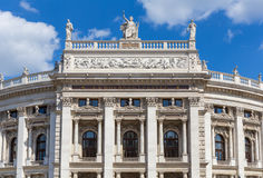 Le théâtre de Burg à Vienne, Autriche photo libre de droits