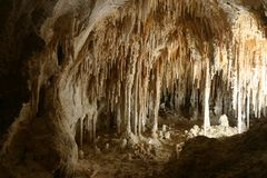 Le théâtre de la poupée de cavernes de Carlsbad Image libre de droits