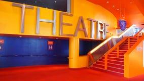Le théâtre de Lowry, quais de Salford, Angleterre Image stock