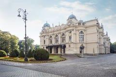 Le théâtre de Slowacki Photos libres de droits