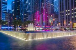Le théâtre de variétés par radio de ville, New York Images stock