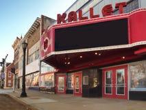 Le théâtre et le centre de conférences de Kallet photos libres de droits