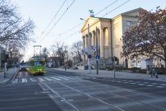 Le théâtre grand, Poznan est un théatre de l'opéra néoclassique situé à Poznan, Pologne photographie stock libre de droits