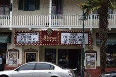 Le théâtre historique d'Alcazar de Carpinteria, la Californie, 1 images libres de droits
