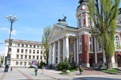 Le théâtre national de Sofia image libre de droits