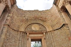 Le théâtre romain de Guelma images libres de droits