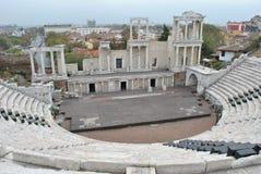 Le théâtre romain de Plovdiv Image libre de droits