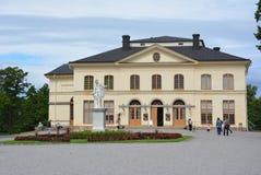 Le théâtre Stockholm de palais de Drottningholm image libre de droits