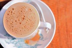 Le thé de lait bouillonne 4 Image libre de droits