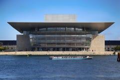 Le théatre de l'opéra de COPENHAGUE, DANEMARK - 15 août 2016 Copenhague Photos stock