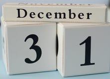 le 31th décembre photographie stock libre de droits