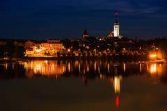 Le Thabor, République Tchèque Photographie stock libre de droits