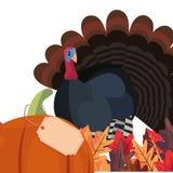 Le thanksgiving heureux c?l?brent photos libres de droits