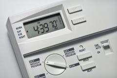 Le thermostat 70 degrés se refroidissent Images libres de droits