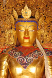 Le Thibet, gyantse, août 2010 - statue de Bouddha Images libres de droits