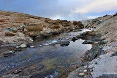 Le Thibet Hot Springs Photo libre de droits