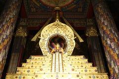 Le Thibet - le Bouddha Photo stock