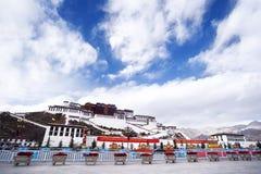 Le Thibet - le Palais du Potala Image libre de droits