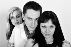 Le Threesomes Image stock