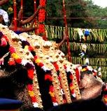 Le Thrissur Pooram image stock