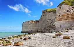 Le Tileul beach Stock Photography