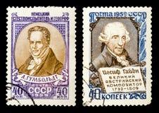 Le timbre-poste Photos libres de droits