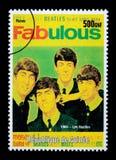 Le timbre-poste de Beatles Photos libres de droits