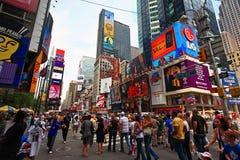 Le Times Square célèbre Photo stock
