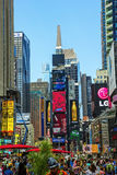 Le Times Square de New York Images libres de droits