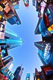 Le Times Square est un symbole de neuf Image libre de droits
