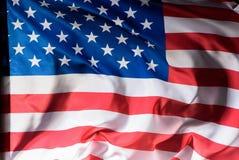 le tir en gros plan d'onduler les Etats-Unis diminuent, l'indépendance photos libres de droits