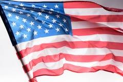 le tir en gros plan d'onduler les Etats-Unis diminuent sur le gris, l'indépendance photos libres de droits