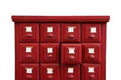 Le tiroir d'Esiimsi part dans le temple Images libres de droits