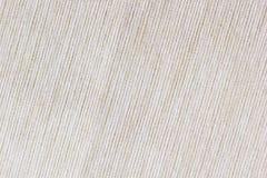 Le tissu beige de texture La toile à nervures Images stock