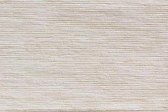 Le tissu beige de texture La toile à nervures Photographie stock