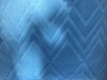 Le tissu bleu de modèle carré et le beau soleil s'allument Images stock