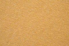 Le tissu de coton jaune a donné au fond une consistance rugueuse, conception de modèle de mode Image libre de droits