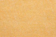 Le tissu de coton jaune a donné au fond une consistance rugueuse, conception de modèle de mode Photo stock