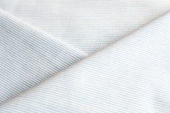 Le tissu de rayure vêtx la texture Image stock