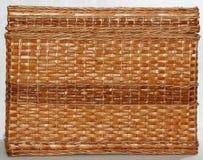 Le tissu en osier fabriqué à la main a tissé 1 Photo libre de droits