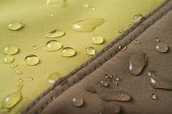 Le tissu imperméable à l'eau Image libre de droits