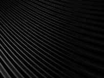Le tissu noir abstrait ondule le fond illustration de vecteur