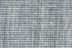 Le tissu noir et blanc dépouille le plan rapproché Photo libre de droits
