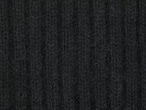 Le tissu plus doux noir, se ferment  Photos libres de droits
