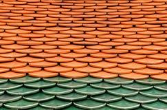 Le toit coloré Image libre de droits